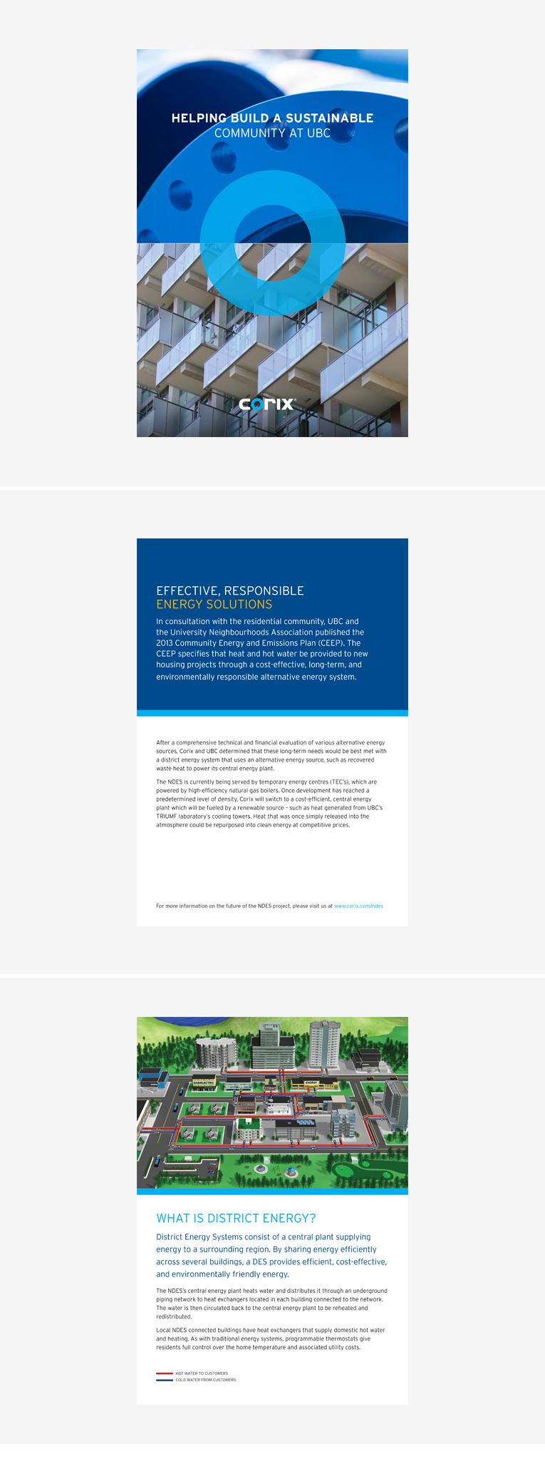 Corix / UBC – Brochure